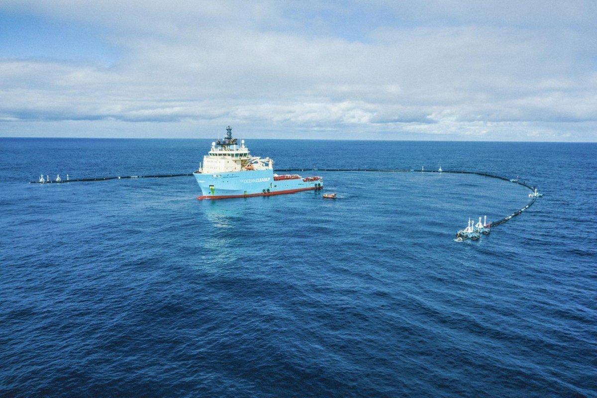 Bild hav - The Ocean Cleanup